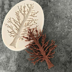 3-D Old Oak Tree Silicone Tree