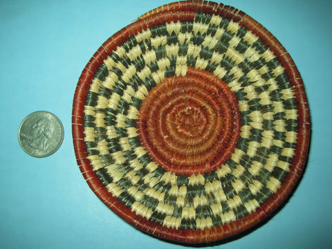 Colorful Handmade Southwest Basket  #5