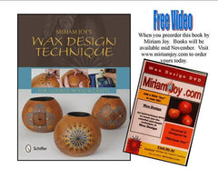 "Miriam Joy's ""Wax Design Technique"" Book Package with Free Items!"