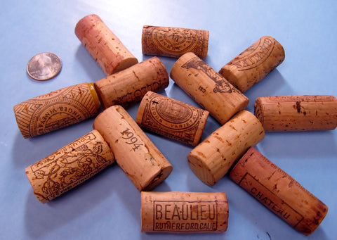 """Around the World"" ~ REAL CORK ~ Unique Names and Pictures"