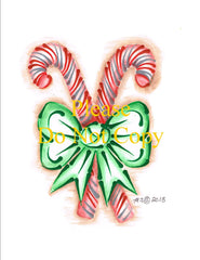 Candy Canes Pattern