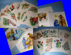 """CHRISTMAS COLLECTION "" Patterns Special"" (26) Patterns!"