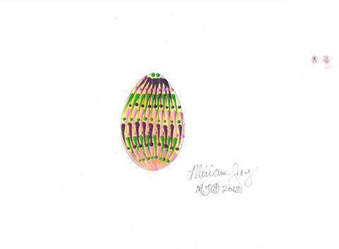 Free Colorful Easter Egg pattern