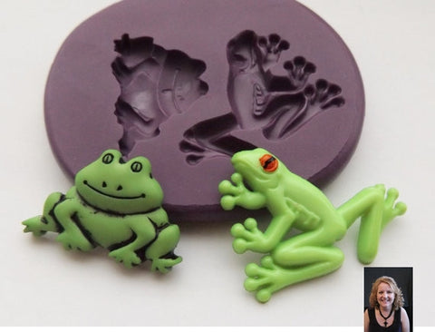 """HAPPY FROGS"" Silicone Mold"
