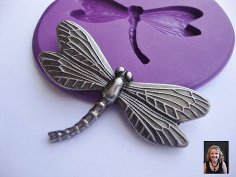 Silicone Dragon Fly Mold