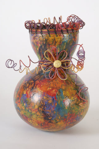 Stained Glass Gourd
