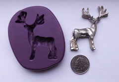 """NEW"" Forest Buck Silicone Mold"