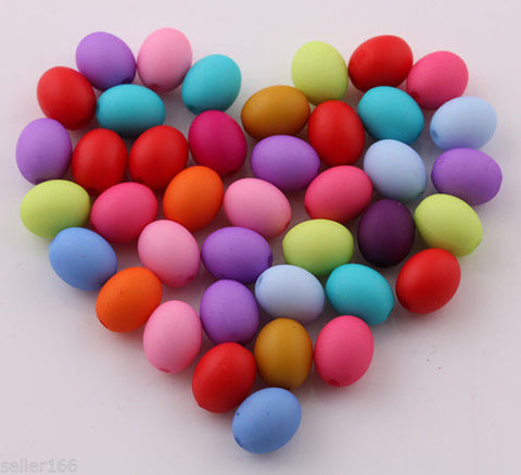 Egg Spacer Beads / Embellishments (100 ct)