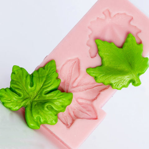 "NEW ""FALL LEAVES"" Silicone Mold"