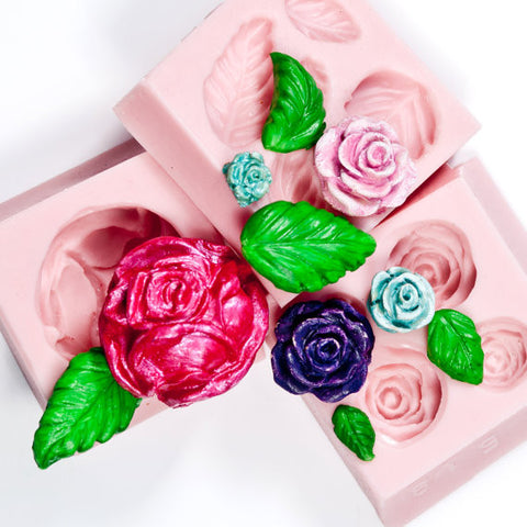 Special Rose & Flowers Mold Collection