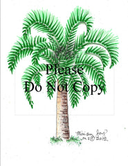 Fat Palm Tree Pattern