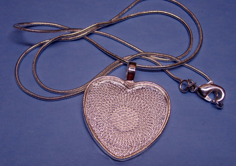 """Summers Dream"" Heart Pendant & Chain Set #3"