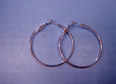 """Wire Hoop Earrings Blanks"" - Make your own Earrings!"
