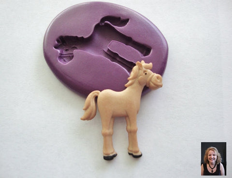 "NEW ""Wilber the Horse"" Silicone Mold"
