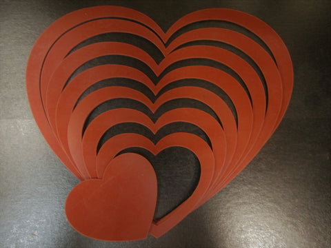 "LARGE""HEART"" Craft Templates"