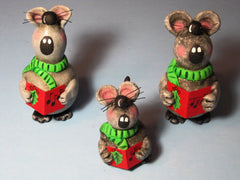 The Caroling Mice Class ~ YOUTUBE.COM VIDEO
