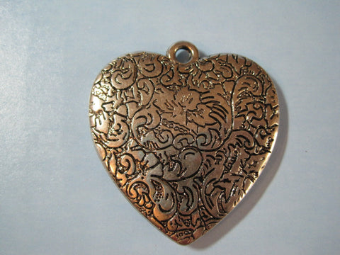 Silver-Tone Lovely Heart -