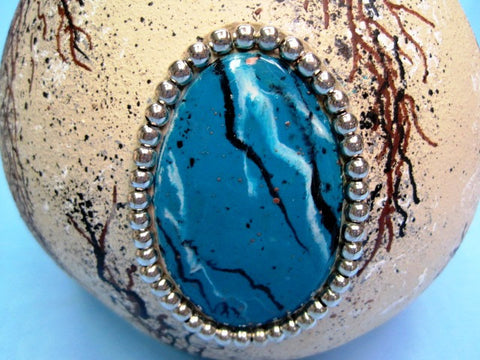 "Horse Hair Pottery & Turquoise Stone"" Class"