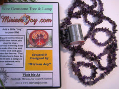 """NEW"" Wire Gemstone Gourd Tree and Lamp Class DVD's #7"