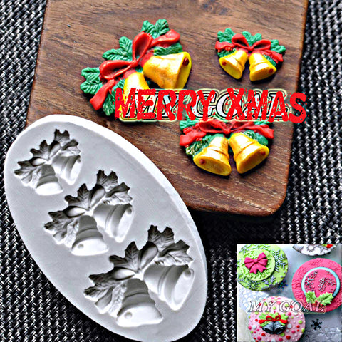 Jingle Bells Silicone Mold