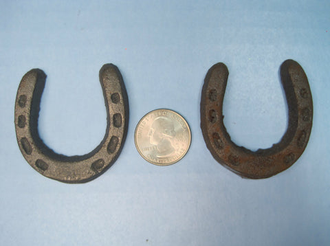 """Miniature Horseshoes"" - Get (2) Horseshoes for $2.99"