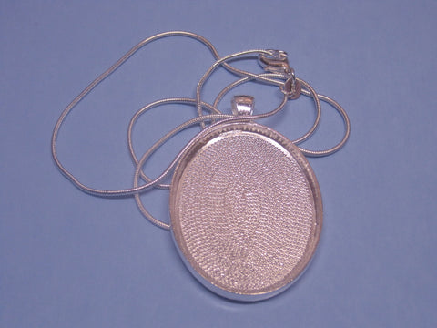 Oval Pendant & Chain Set  # 2