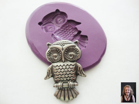 """NEW"" Owl Silicone Mold"