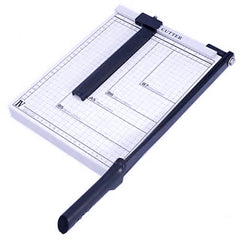 Guillotine Type Paper Cutter - Sharp & Easy on the Hand!