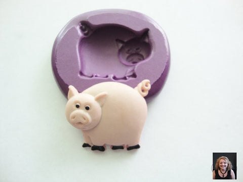 "NEW ""Piggly Weg-lee"" Silicone Mold"