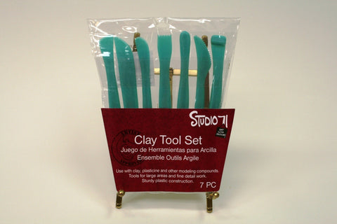 Clay Tool Pack  (7 PC)