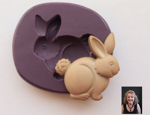 Cute Bunny Rabbit Silicone Mold