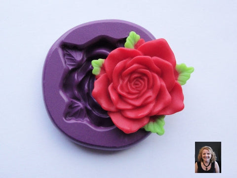 "NEW ""Starling Red Rose"" Silicone Mold"