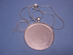 Round Pendant with Chain Set #1