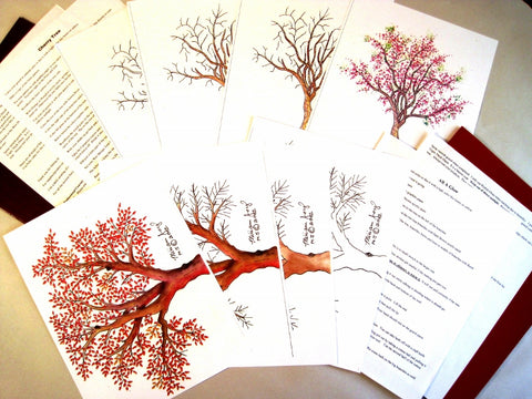 MJ Tree Pattern Special  $20.00 for Two (2) Tree Pattern Sets