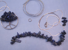 Wire Gemstone Tree Pendant Kit #3