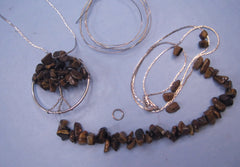Wire Gemstone Tree Pendant Kit #4