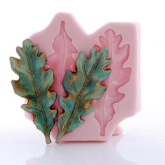 Oak Leaves ~ Silicone Mold #2 - Earring Size!