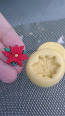 Poinsettias Silicone Mold - from Miriam Joy!