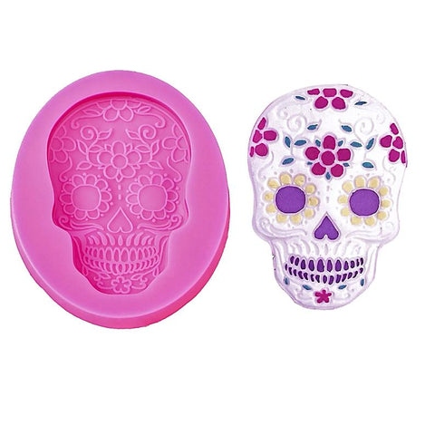 Day of the Dead Silicone Mold