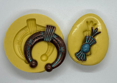 Squash Blossom Necklace Silicone Mold - Set of (2) Molds!