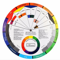 Color Wheel Chart - Very Useful!