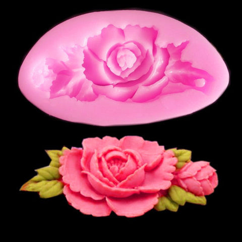 "Kentucky Derby ""Run for the Roses"" Silicone Mold"