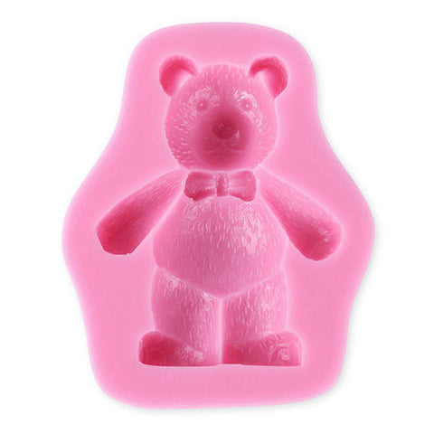 NEW - 3-D Fuzzy Bear Silicone Mold ON SALE NOW
