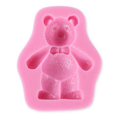 NEW - 3-D Fuzzy Bear Silicone Mold ON SALE NOW $1.99 ea.