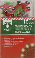 """Holiday Red Truck"" String of LED lights - AWESOME!"