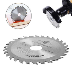 "Circular Sawing Blade Wood / ""Gourd"" Cutting Round Disc - 4"" Blade"