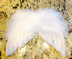 Mini Angel Wings with Real Feathers!