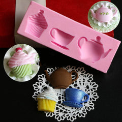 Silicone Teapot / Cup / Cupcake Mold