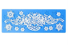 Christmas / Anniversary Series Bell Snowflake Lace Mold / Mat