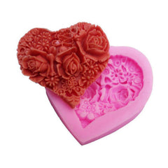 Valentines Day  Heart Silicone Mold On Special Now!